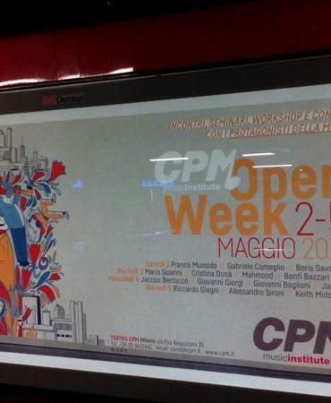 CPM locandina metro